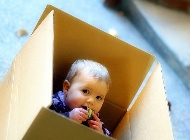 Surviving a house move with children in tow