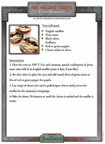 Recipe: Pizza Mummies