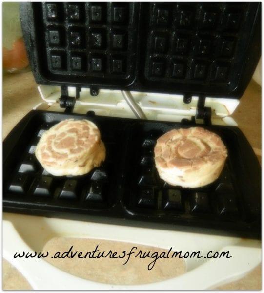 Recipe: Cinnamon Roll Waffles