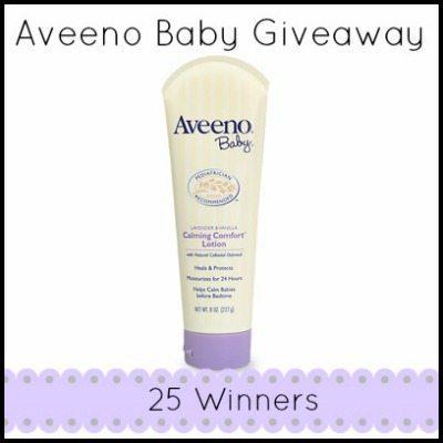 Aveeno Baby Giveaway