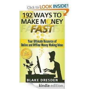 Freebie: 192 Ways To Make Money Fast {Kindle} - Adventures