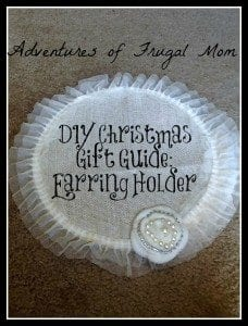 AFM DIY Earring Holder