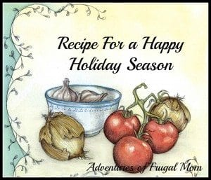 AFM Recipe Holiday Season