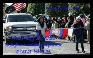 AFM girls veteran's day parade