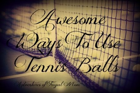 Awesome Ways to Use Tennis Balls