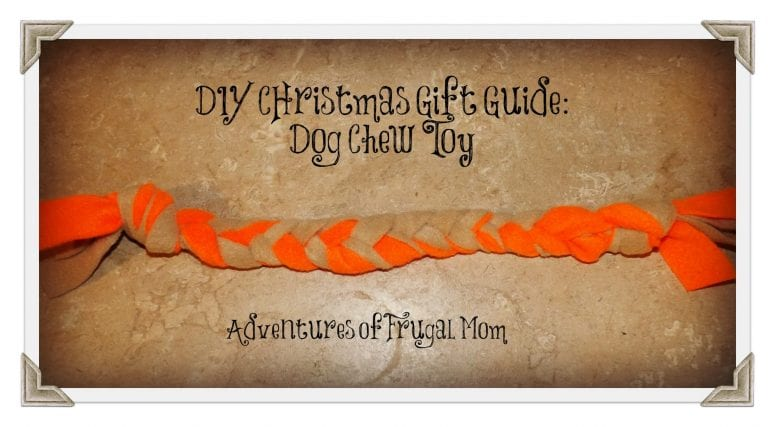 DIY Christmas Gift Guide: Dog Chew Toy