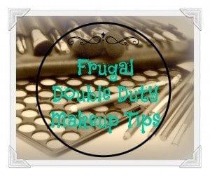 AFM Frugal Double Duty makeup