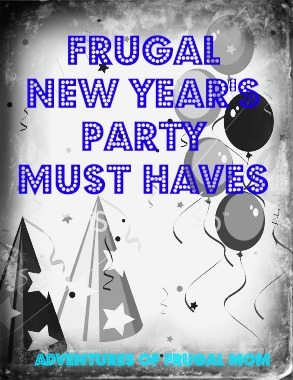 Frugal New Year's Party Must Haves