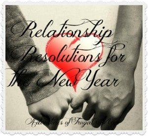 AFM Relationship resolutions for the new year