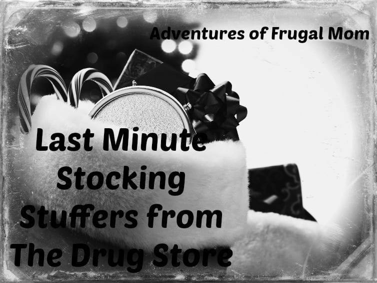 Last Minute Stocking Stuffers From The Drug Store