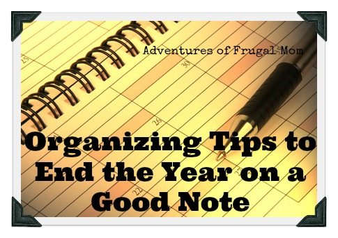 Organizing Tasks to End the Year on A Good Note