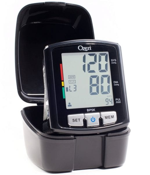 Ozeri BP Monitor Makes Checking Your Blood Pressure Easy