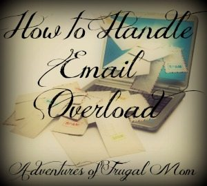 How to Handle Email Overload