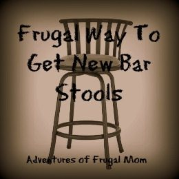 Frugal Way to Get New Bar Stools