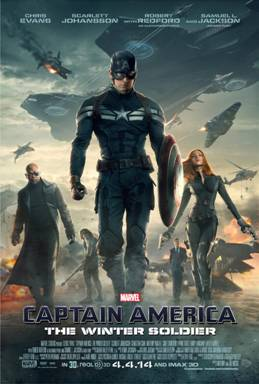 Marvel's CAPTAIN AMERICA: THE WINTER SOLDIER kicks off the big game!