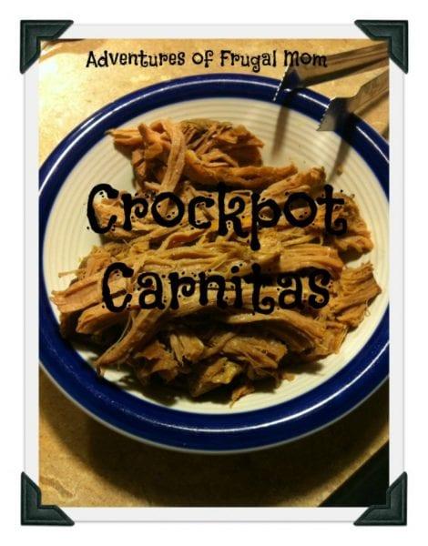 Recipe: Crockpot Carnitas