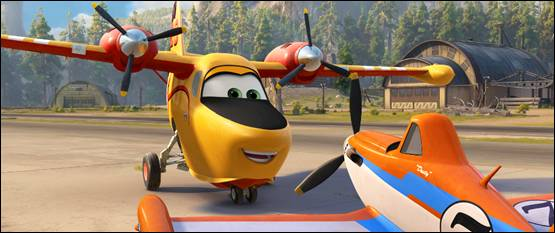 New Trailer From Disney's Planes:Fire & Rescue