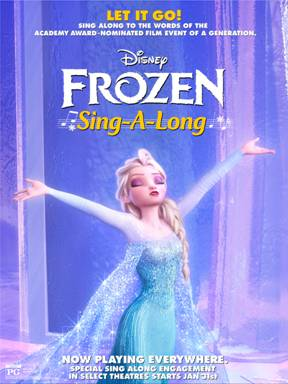"Sing Along With Disney's Frozen ""Let It Go"""