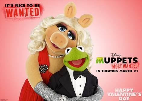 Happy Valentine's Day from Muppets Most Wanted