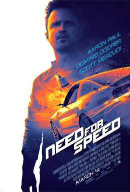 Need For Speed Coming to Theaters March 2014