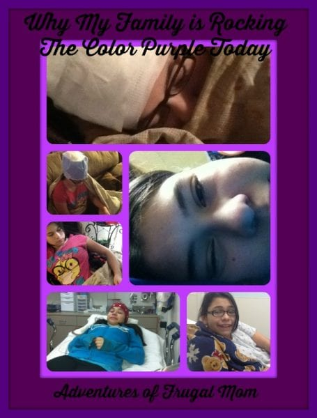 Why My Family is Rocking the Color Purple Today Epilepsy Awareness