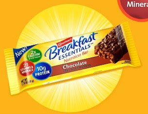 FREE Carnation Breakfast Essentials Nutrition Bar!
