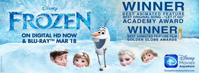 "DISNEY'S ""FROZEN"" CROSSES $1 BILLION WORLDWIDE"