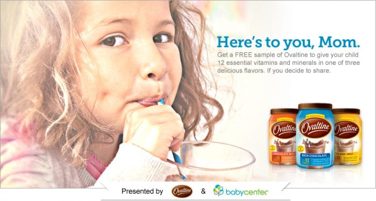 FREE Ovaltine Samples – FB