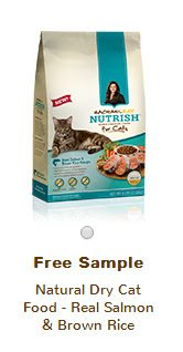 Free Sample of Rachael Ray Natural Cat Food