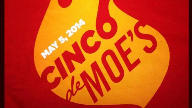 Free Moe's Southwest Grill Guacamole on Monday, May 5th!