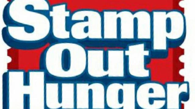 Stamp Out Hunger postal service food drive Saturday!