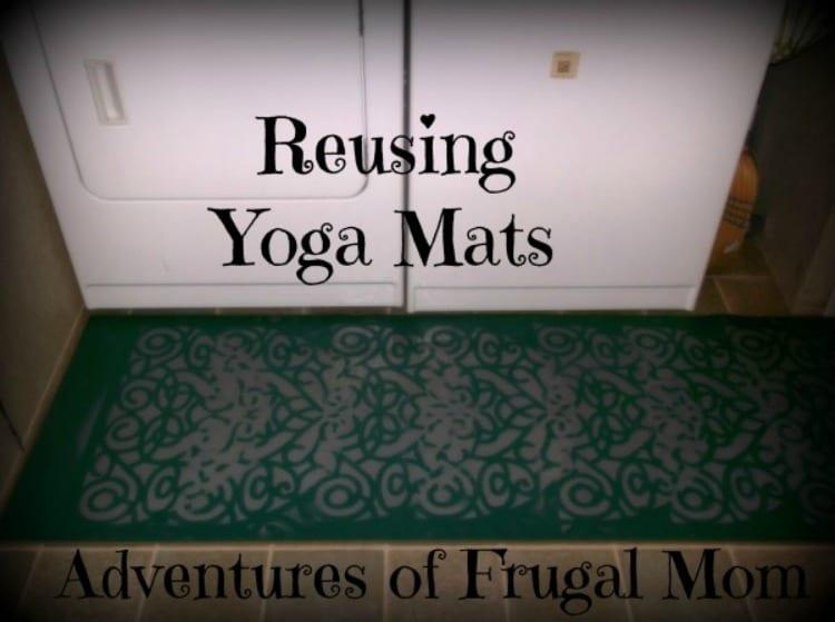 Reusing Yoga Mats
