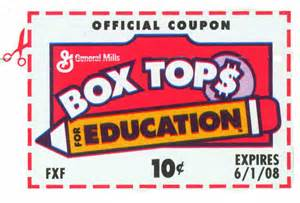 Box Tops Do You Save Them?