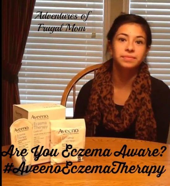 Are You Eczema Aware? #AveenoEczemaTherapy