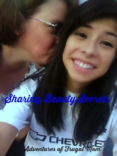 Sharing Beauty Secrets