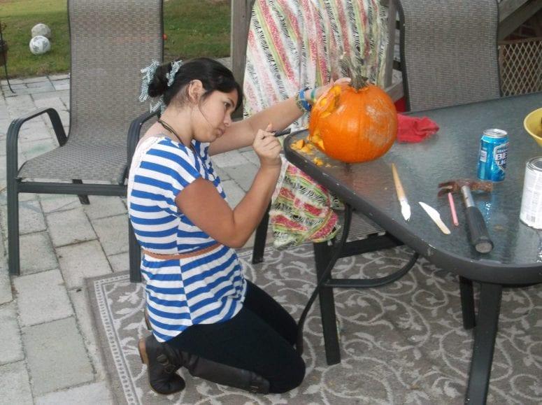 Wordless Wednesday Pumpkin Carving