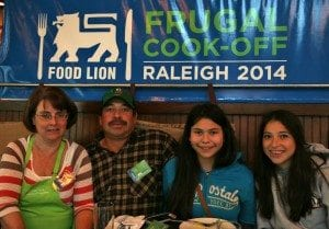 Frugal Cook off Family
