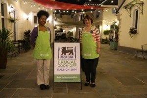 team for frugal cook off