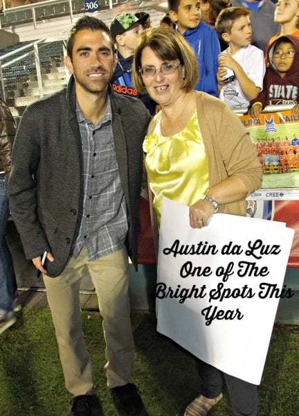 Austin da Luz One of The Bright Spots This Year