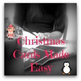 Christmas Cards Made Easy