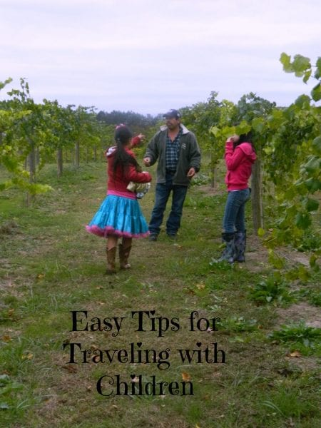 Easy Tips for Traveling With Children