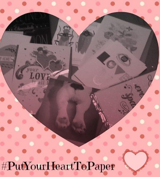 #PutYourHeartToPaper This Valentine's Day