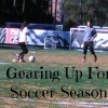 gearing up for soccer