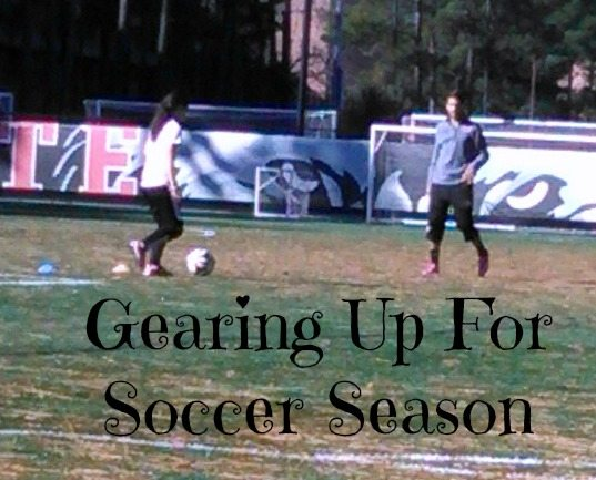 Gearing Up For Soccer Season