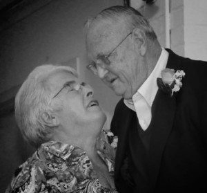 Here are my parents at their 50th wedding anniversary. They would have been married 55 years this February 27.