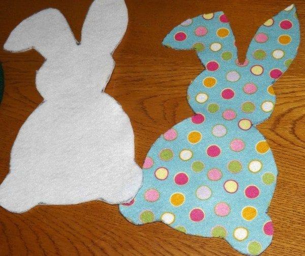 Bunny cutouts