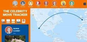 celebrity move tracker