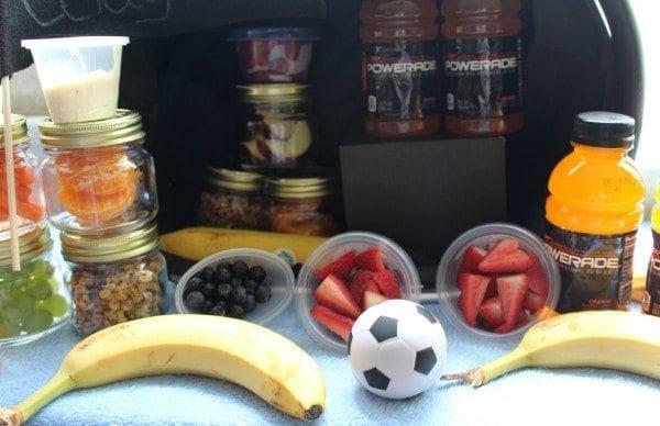powerade soccer sideline kit