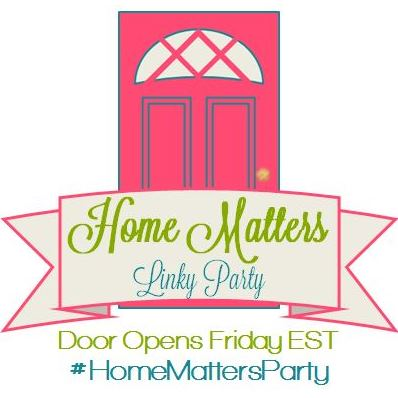 Home Matters Linky Party #38