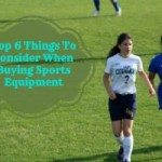 6 things to consider when buying sports equipment